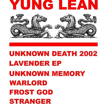 Yung Lean Discography by charmeur