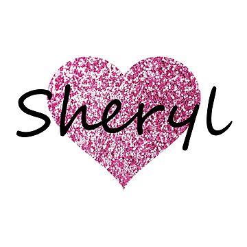 Sheryl Pink Heart by Obercostyle