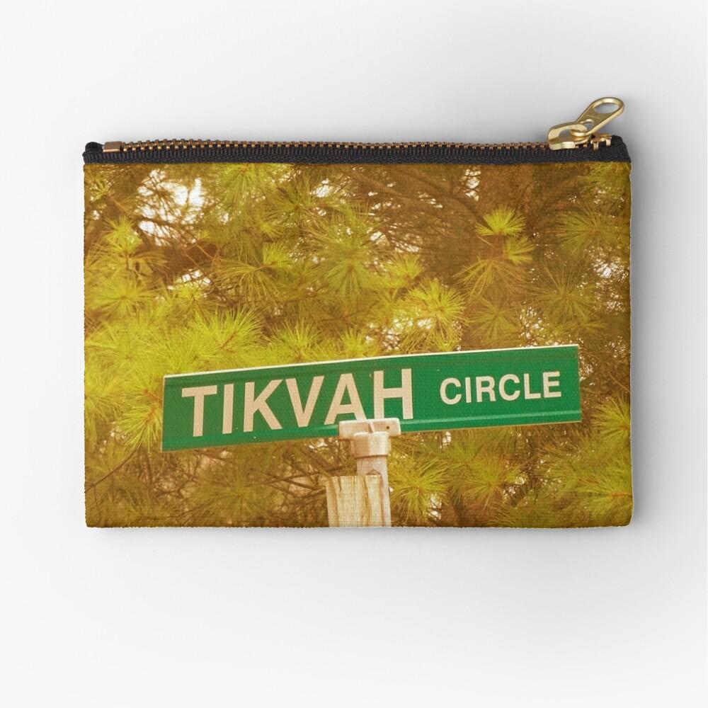Tikvah circle  Zipper Pouch