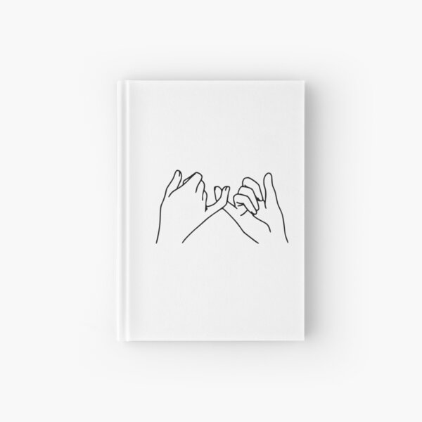Pinky Promise Hardcover Journal