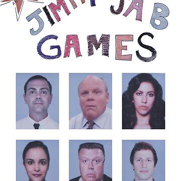 Jimmy Jab Games - Brooklyn 99 by domiellis