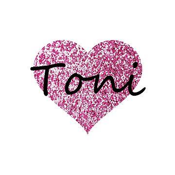 Toni Pink Heart by Obercostyle