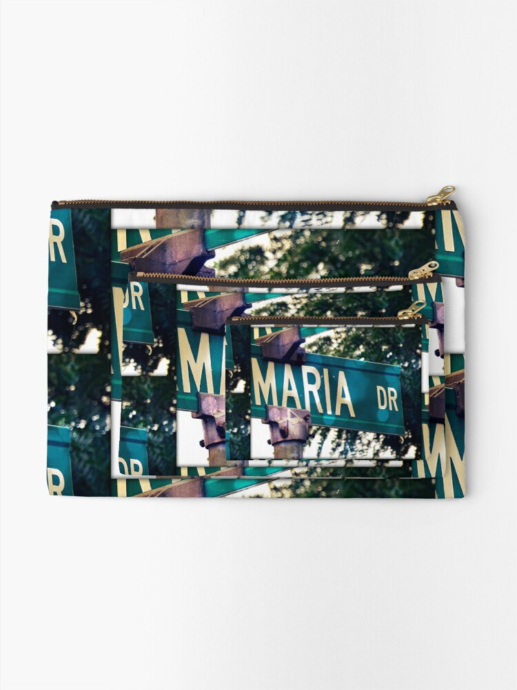 Alternate view of Maria Zipper Pouch
