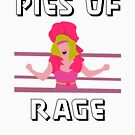 GLOW - PIES OF RAGE (black text) by Media Hurl