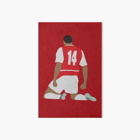 Thierry Henry Art Board Print