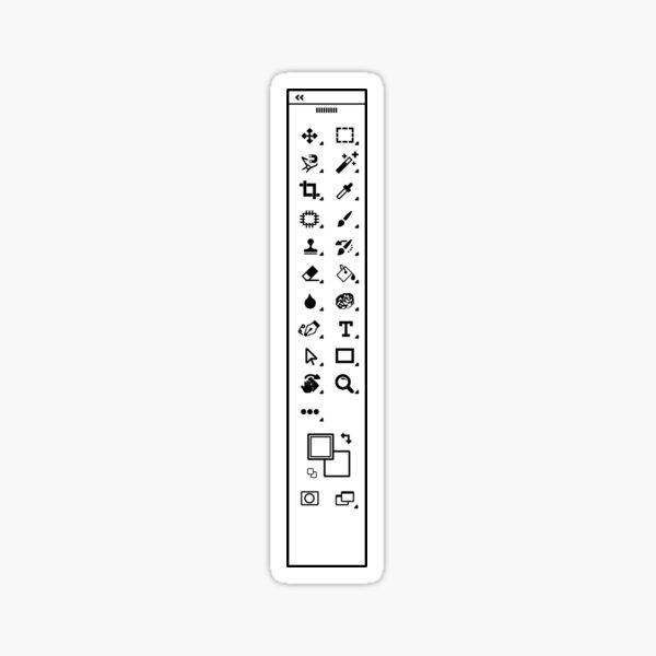 Photoshop Toolbar Sticker
