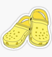 Crocs Shoe Lemon Sticker