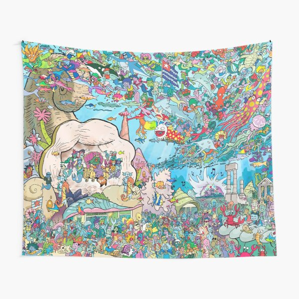 The Mer-King's Birthday Tapestry