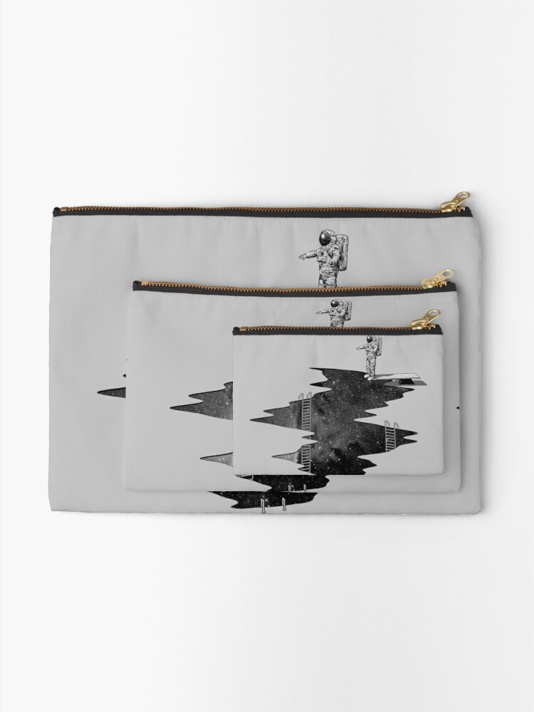 Alternate view of Space Diving Zipper Pouch