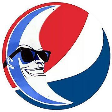 Moon Man Vaporwave Pepsi Saint Pepsi by Otori