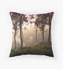 Skygate (Autumn) Throw Pillow