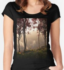 Skygate (Autumn) Women's Fitted Scoop T-Shirt