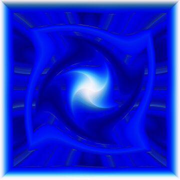 A star on blue by TiiaVissak
