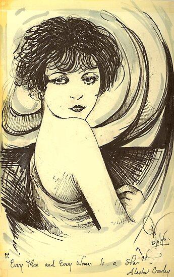 The It Girl ( Clara Bow ) by John Dicandia ( JinnDoW )