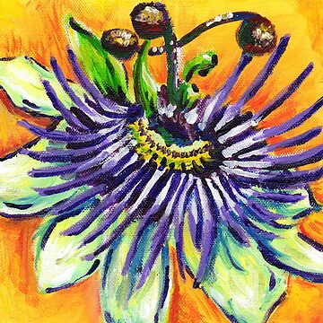 Passion Flower by KLoganArt