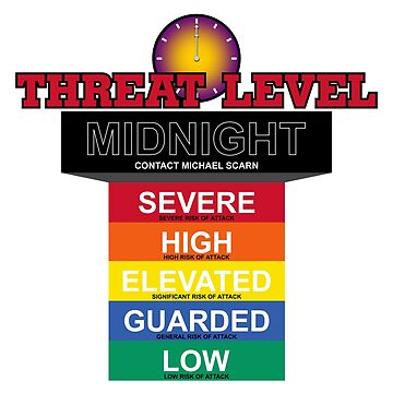 Threat Level Midnight Chart (Variant) by huckblade
