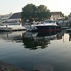 Salem Docks by KOKeefeArt