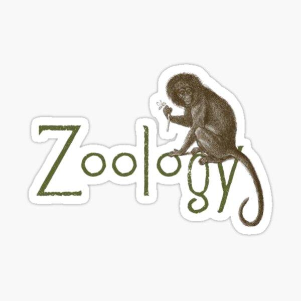 Zoology Shirt - Zoology Gifts Sticker