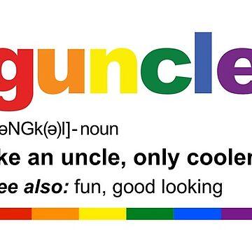 Funny Gay Uncle Guncle Definition Coffee Mug by albertellenich