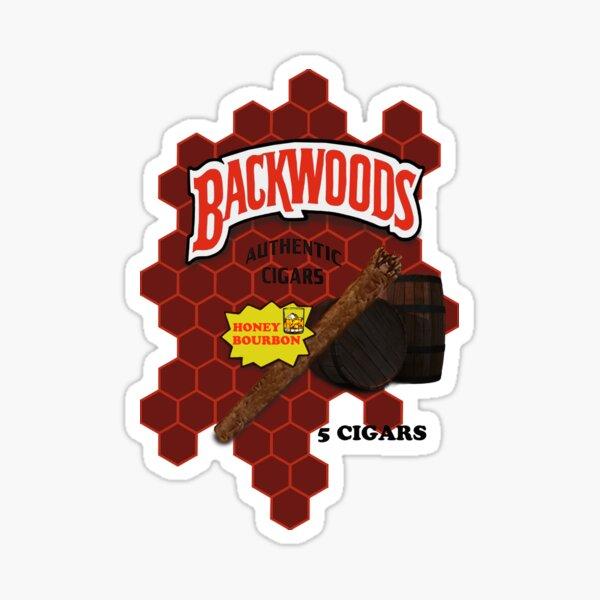 Honey Bourbon Wood Sticker
