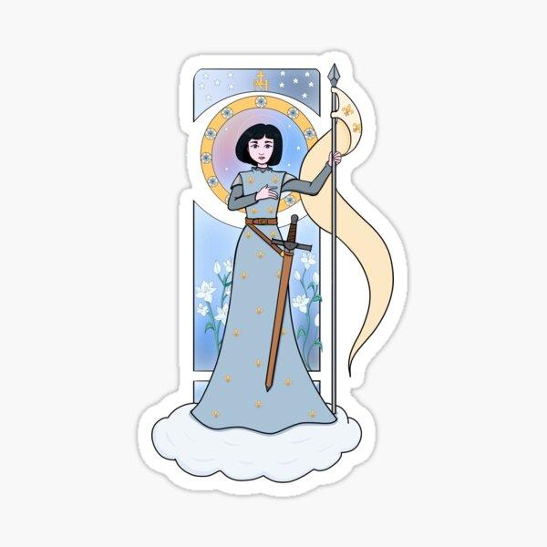 St. Joan of Arc Sticker