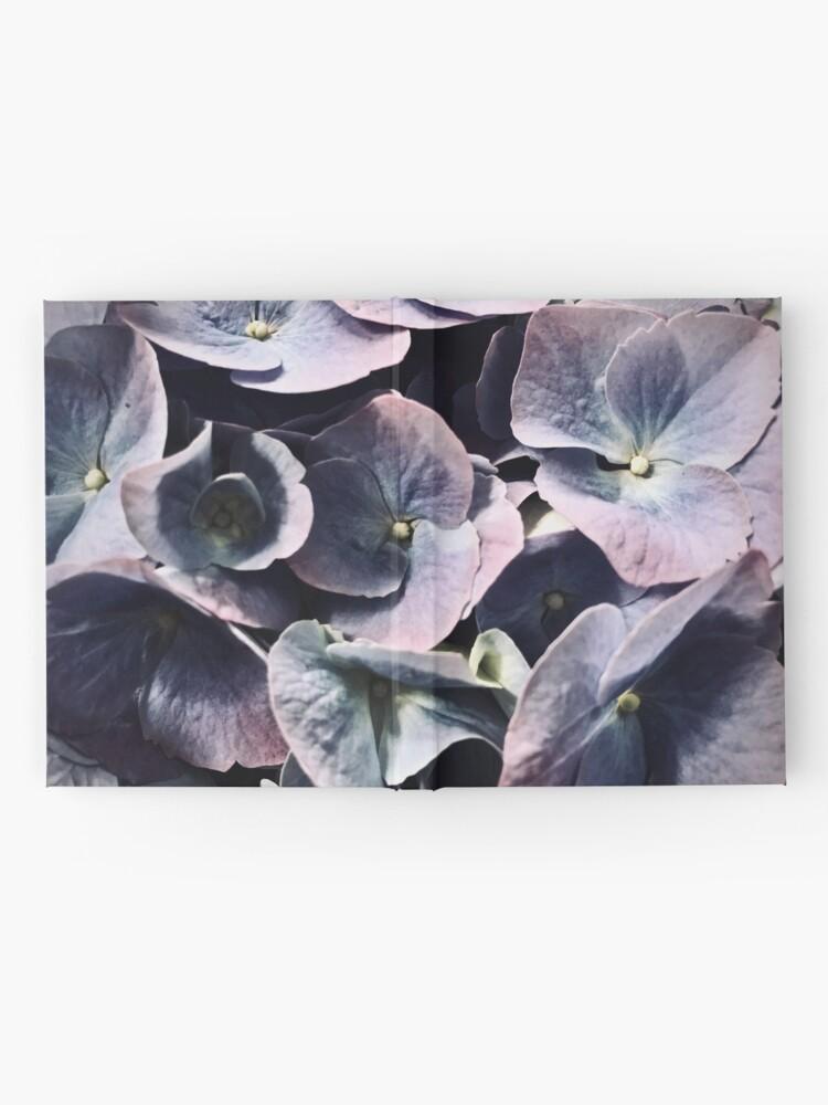 Alternate view of Purple Hydrangea Hardcover Journal