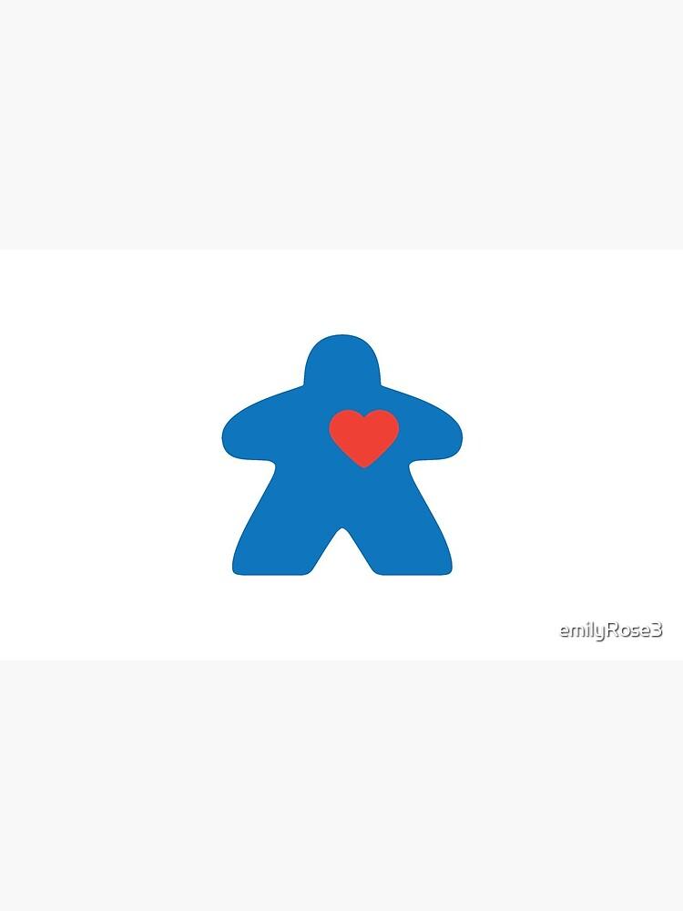 Meeple love - blue by emilyRose3