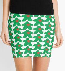 Meeple Love - green Mini Skirt