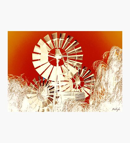Windmills of My Mind Photographic Print
