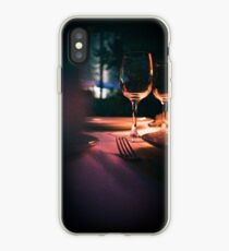 Wedding reception banquet party table  iPhone Case