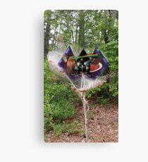Spider built Mars Trees Canvas Print