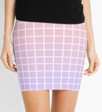 Grid Horizontal   Mini Skirt