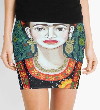 Frida, queen of Hearts Mini Skirt