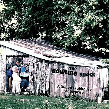 """The Bowling Shack""... prints and products by ArtbyBob"
