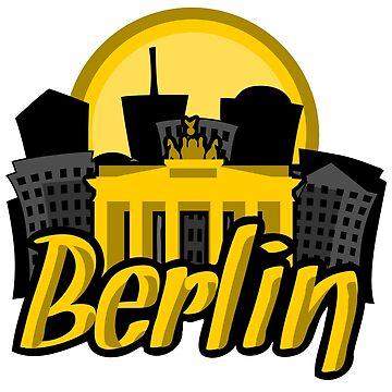 Berlin Skyline Sunrise by pda1986