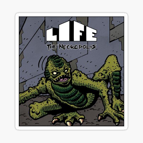 Life The Necropolis: Glub Sticker