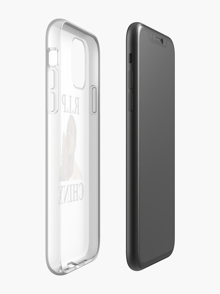 Coque iPhone « RIP CHINX », par 123leanytime