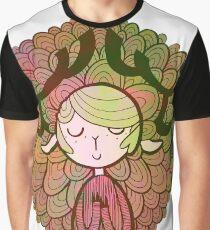 Deer - Spring Graphic T-Shirt