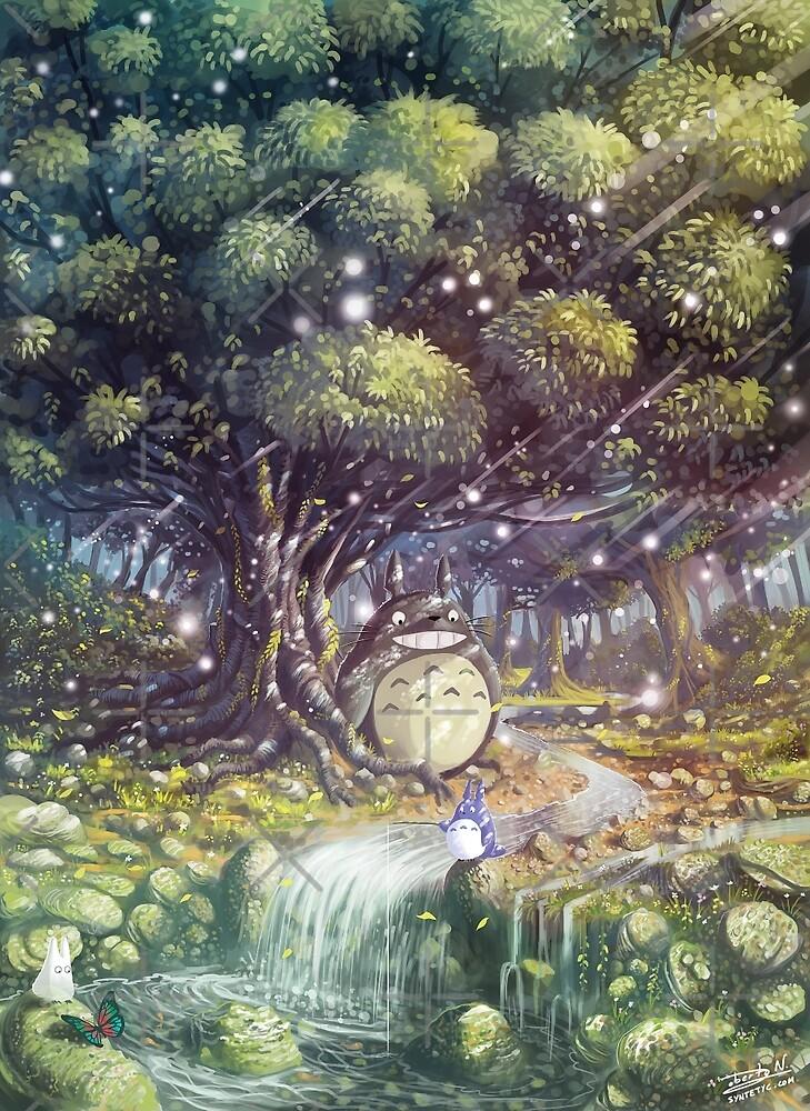 «Totoro's Paradise» de Roberto Nieto