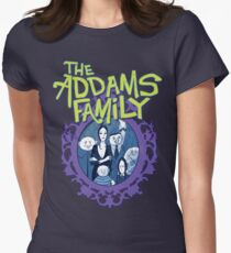 Addams Family The Musical Broadway TV Show Theater Play Women's Fitted T-Shirt