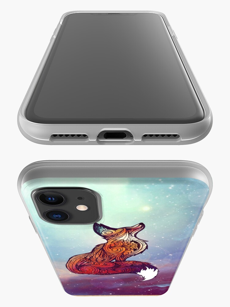 Alternate view of Space Fox iPhone Case & Cover