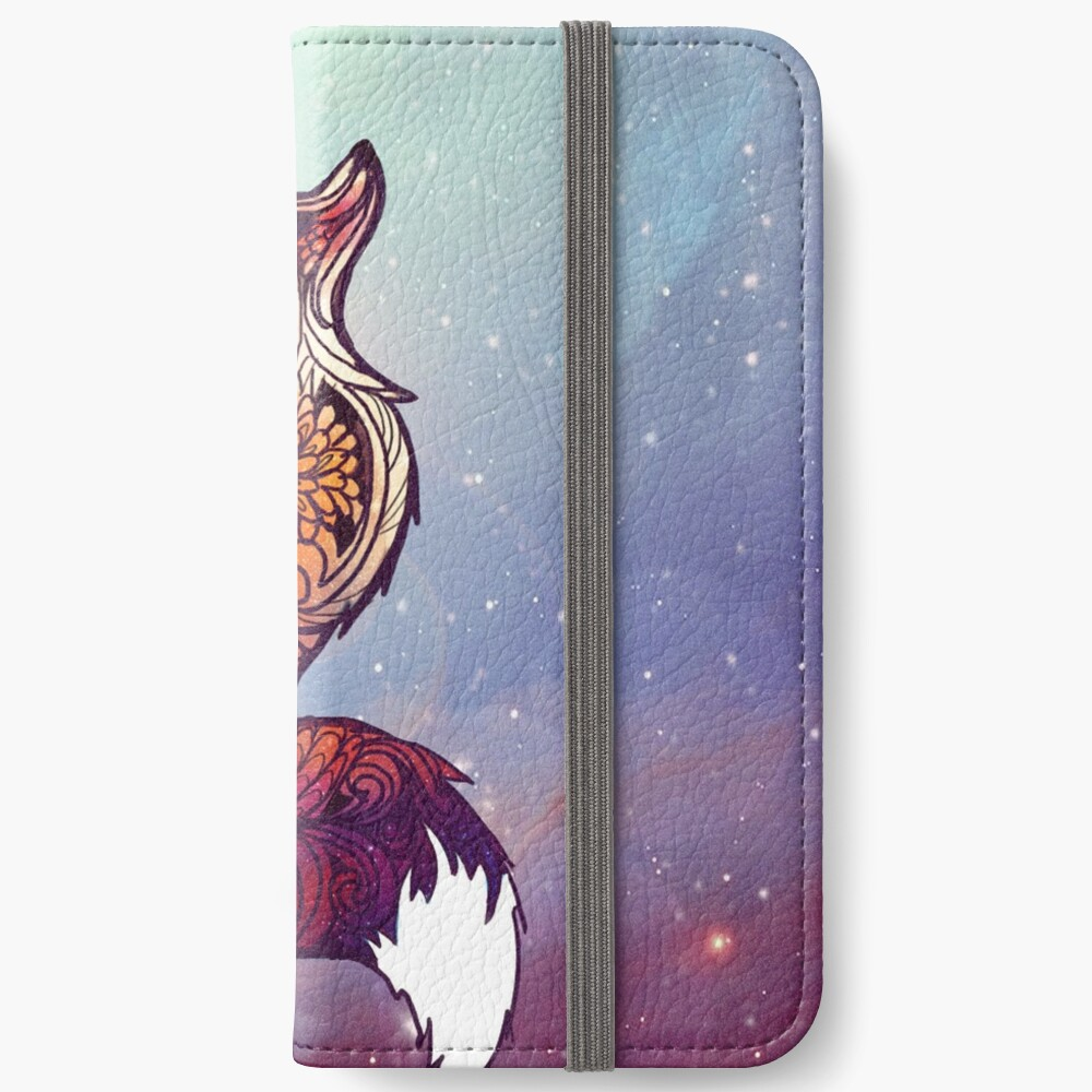 Space Fox iPhone Wallet