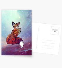 Postales Space Fox