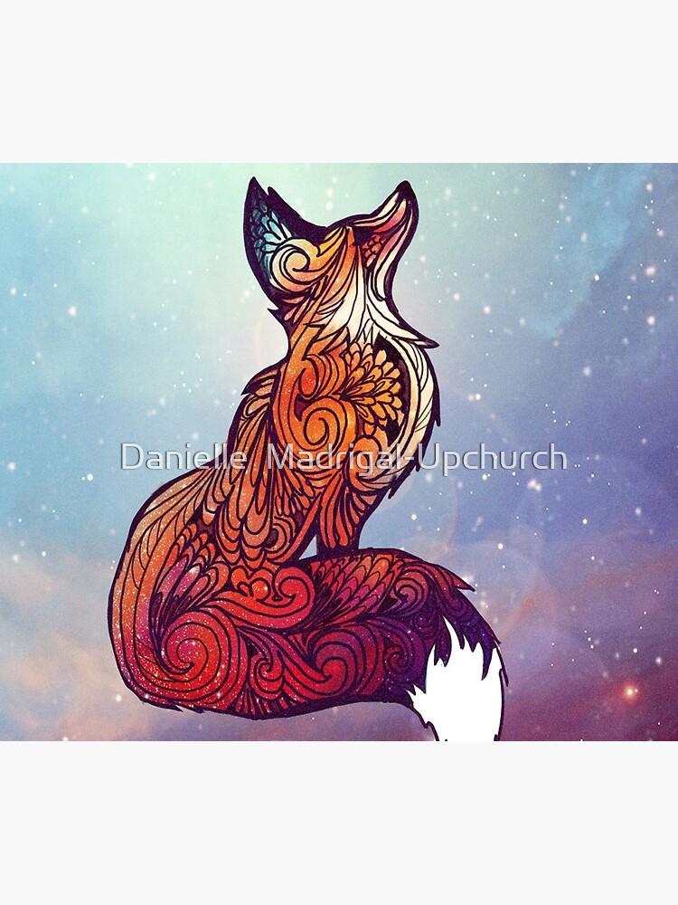Space Fox by nellmeowmeow
