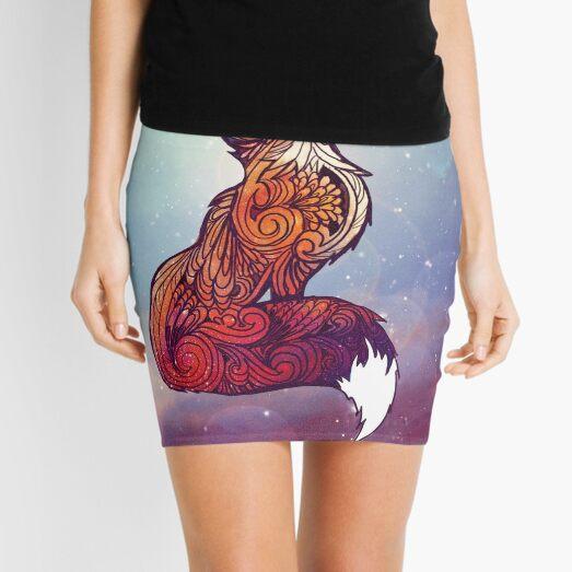 Space Fox Mini Skirt