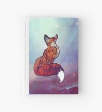 Space Fox Hardcover Journal