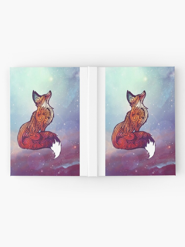 Alternate view of Space Fox Hardcover Journal