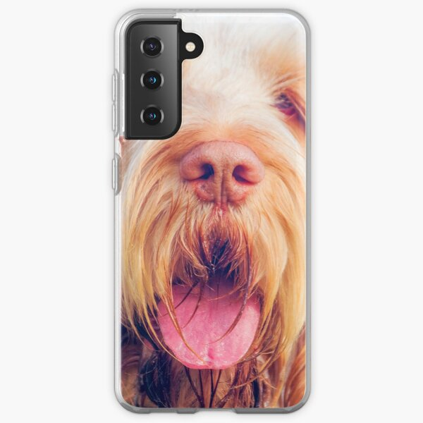 Wavy ears Spinone Samsung Galaxy Soft Case