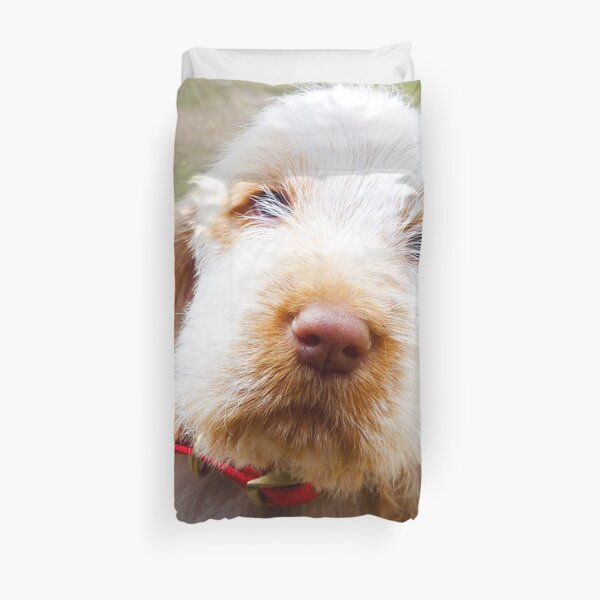 Lifetime of love Spinone Duvet Cover