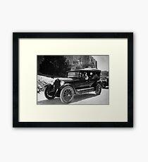 Vintage Car - Middle East - Circa 1930 Framed Print